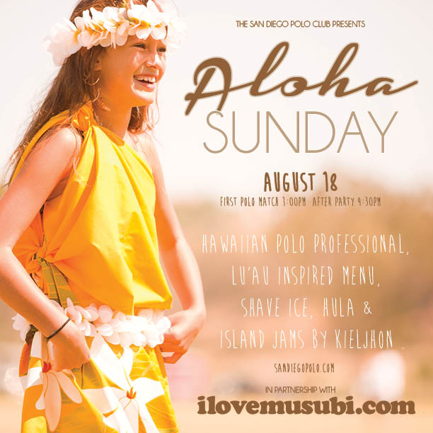 Aloha Sunday Invite 2013