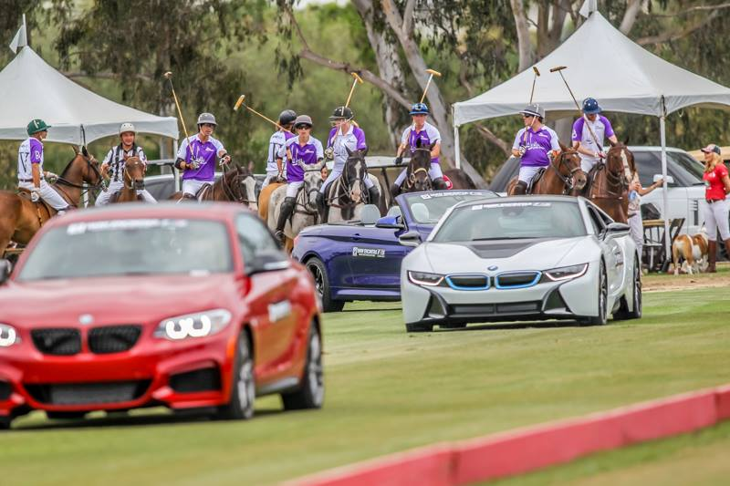 San Diego Polo Club Woodford Reserve Polo Classic-Parade of Teams