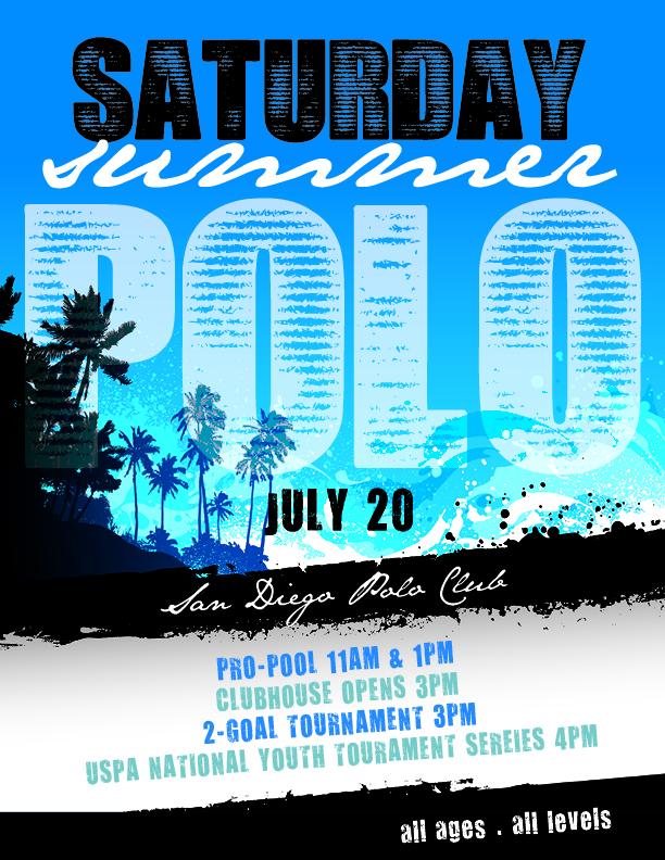 Saturday Summer Polo