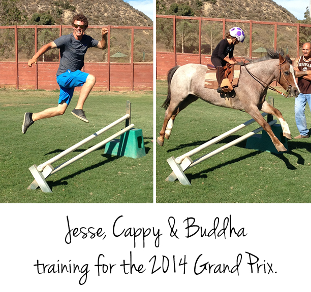 Grand Prix training at the San Diego Polo Club