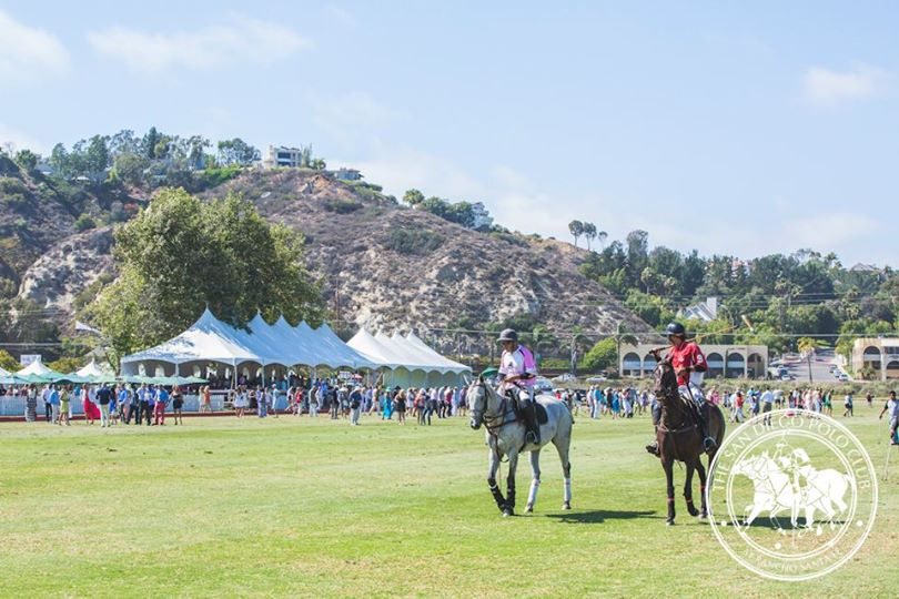 San Diego Polo Club Chambord Vodka Classic & Fundraiser for Challenged Athletes Foundation- Chambord divot stomp