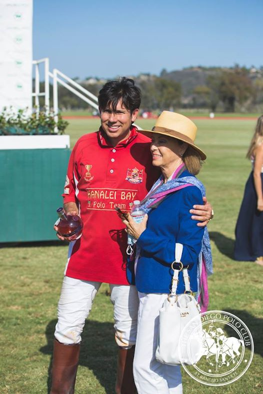 San Diego Polo Club Chambord Vodka Classic & Fundraiser for Challenged Athletes Foundation- Roberto Estudillo & mother