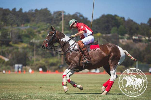 San Diego Polo Club Chambord Vodka Classic & Fundraiser for Challenged Athletes Foundation- Roberto Estudillo-paint
