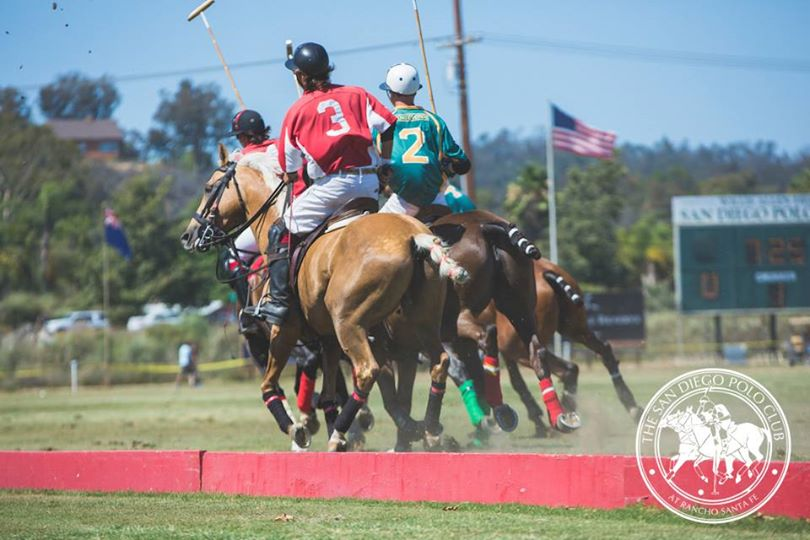 San Diego Polo Club Pan-American Cup Finals & Local Heroes Celebration-Action