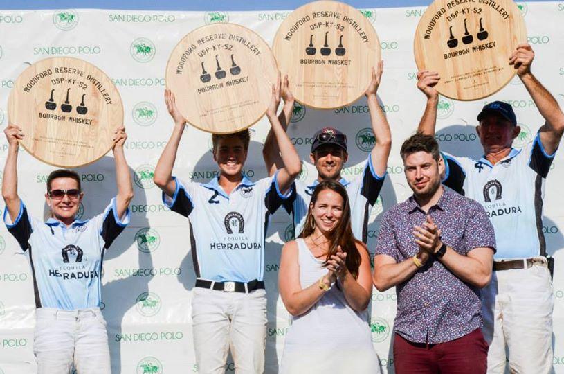 San Diego Polo Club Woodford Reserve Polo Classic Event-Bourbon Herradura Tequila Winners