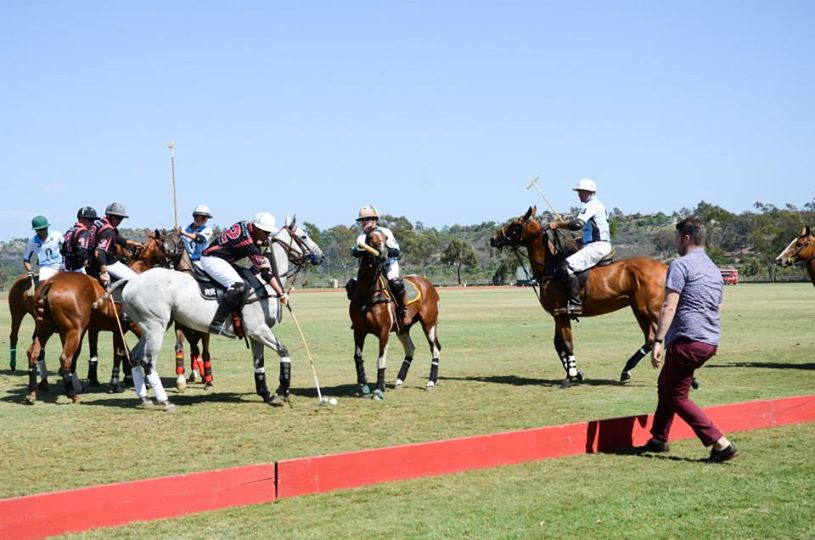 San Diego Polo Club Woodford Reserve Polo Classic Event-First Ball Throw In