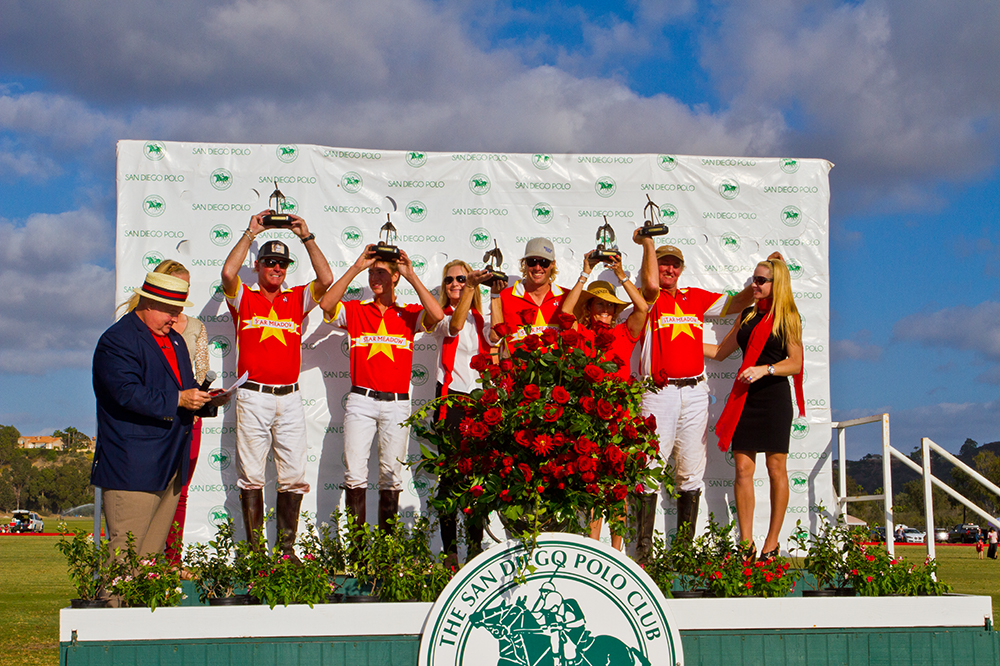 USPA-Spreckels-Cup-2014-San-Diego-Polo-Club- Closing-Day- Spreckels Family- Runner-Up
