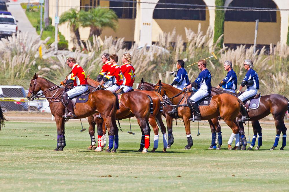 USPA-Spreckels-Cup-2014-San-Diego-Polo-Club- Closing-Day-Woodford-Reserve-teams