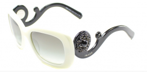 Prada-Sunglasses-Ivory-Black
