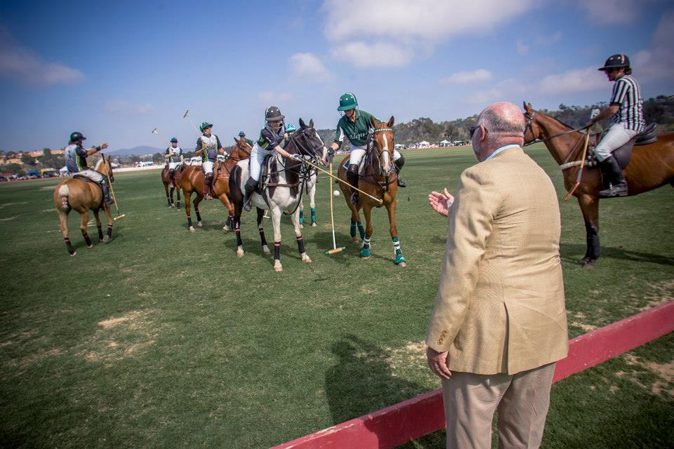 San-Diego-Polo-Club-Craig-Venter-First-Ball-Throw-in-Opening-Day