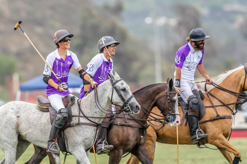 San Diego Polo Club Woodford Reserve Polo Classic-Hilario Figueras-Nacho Figueras-Diego Cossio