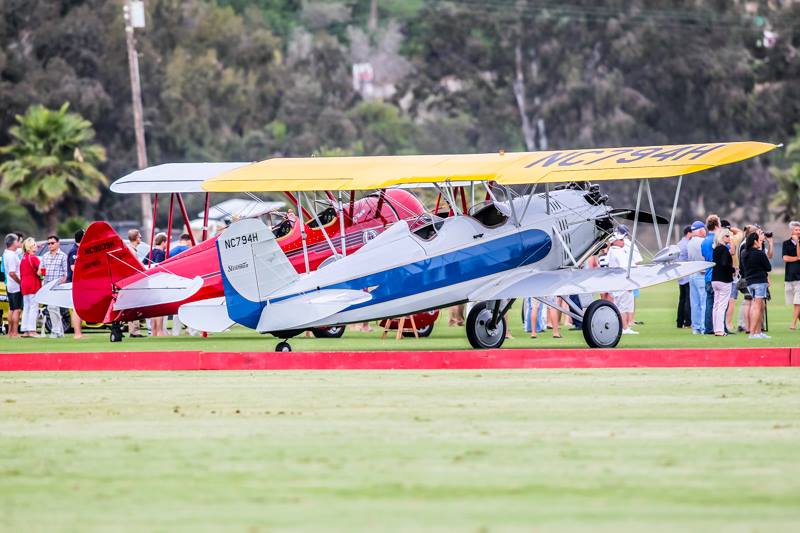 San Diego Polo Club Woodford Reserve Polo Classic-steerman-biplanes