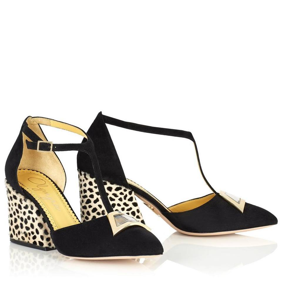 10 Charlotte Olympia Lillian T-strap shoes