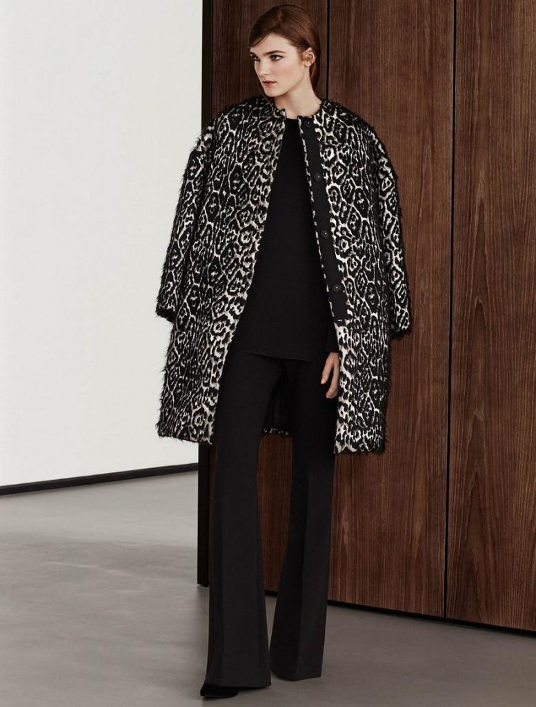 6 Max Mara jacquard coat