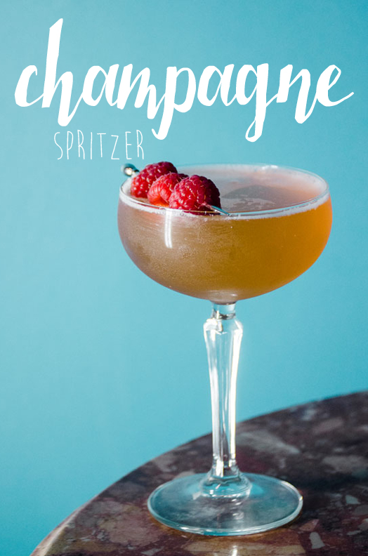 Woodford Reserve Holiday Cocktails-Champage-Spritzer